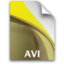 64x64px size png icon of sb document secondary avi