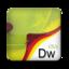 64x64px size png icon of Adobe Dreamweaver CS3
