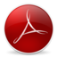 64x64px size png icon of Adobe Reader