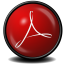 64x64px size png icon of Acrobat Reader 9