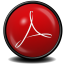 64x64px size png icon of Acrobat Reader X