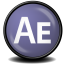 64x64px size png icon of After Effects CS 3