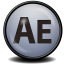 64x64px size png icon of After Effects CS 4