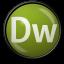 64x64px size png icon of Dreamweaver CS 3