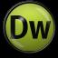 64x64px size png icon of Dreamweaver CS 4
