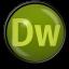 64x64px size png icon of Dreamweaver CS 5