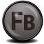 64x64px size png icon of Flash Builder CS 4