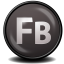 64x64px size png icon of Flash Builder CS 5