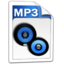 64x64px size png icon of Audio MP3