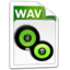 64x64px size png icon of Audio WAV