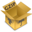 64x64px size png icon of Comprimidos GZIP