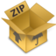 64x64px size png icon of Comprimidos ZIP