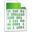 64x64px size png icon of System Binary