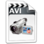 64x64px size png icon of Video AVI
