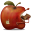 64x64px size png icon of redApple