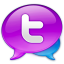 64x64px size png icon of Large Twitter Logo