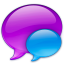 64x64px size png icon of Small Blue Balloon