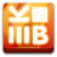 64x64px size png icon of Apps k3b