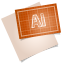64x64px size png icon of adobe blueprint ai