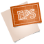 64x64px size png icon of adobe blueprint eps