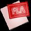 64x64px size png icon of adobe blueprint fla