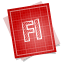 64x64px size png icon of adobe blueprint flash
