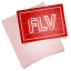 64x64px size png icon of adobe blueprint flv