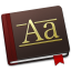 64x64px size png icon of Font Book Alt