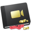 64x64px size png icon of Movie Book Alt