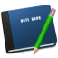 64x64px size png icon of Note Book Alt
