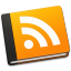 64x64px size png icon of RSS Book