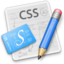 64x64px size png icon of CSSEdit 128 Aqua