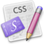 64x64px size png icon of CSSEdit 128 Berries