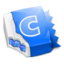 64x64px size png icon of Blue CandyBar