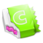 64x64px size png icon of Watermelon CandyBar