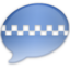 64x64px size png icon of iChat Aqua Taxi 2