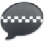 64x64px size png icon of iChat Black Taxi