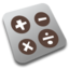 64x64px size png icon of Calc