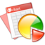 64x64px size png icon of kchart