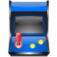64x64px size png icon of package games arcade