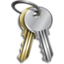 64x64px size png icon of password