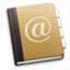 64x64px size png icon of Address Book