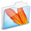 64x64px size png icon of Folder CS2 ImageReady