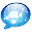 64x64px size png icon of IChat 2