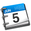 64x64px size png icon of Ical blue 1