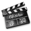 64x64px size png icon of Movies black