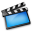 64x64px size png icon of Movies blue