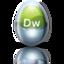 64x64px size png icon of adobe dreamweaver