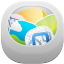 64x64px size png icon of recycle bin full 2
