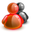 64x64px size png icon of default red